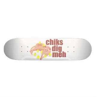 chiks dig meh skateboard