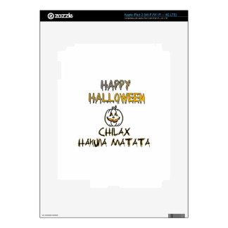 Chilax Happy Halloween Hakuna Matata Decals For iPad 3