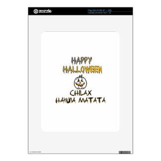 Chilax Happy Halloween Hakuna Matata iPad Skin