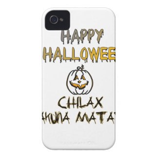 Chilax Happy Halloween Hakuna Matata iPhone 4 Case