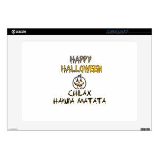 Chilax Happy Halloween Hakuna Matata Laptop Skin