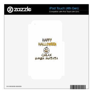Chilax Happy Halloween Hakuna Matata Skin For iPod Touch 4G