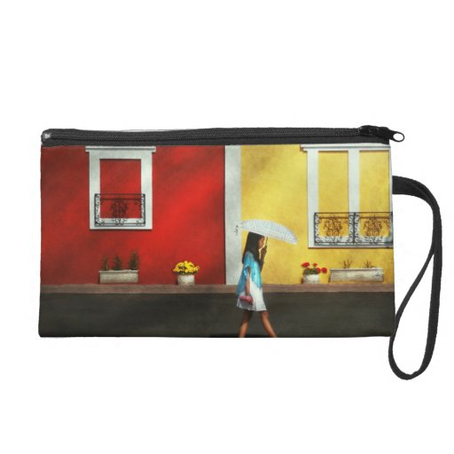 Child - A bright sunny day Wristlet