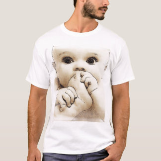 Child a foot in a mouth T-Shirt