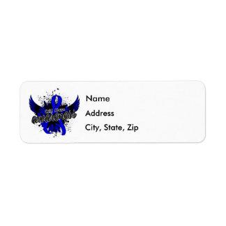 Child Abuse Awareness 16 Return Address Label