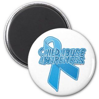 child-abuse-awareness 2 inch round magnet