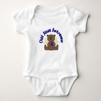 Child Abuse Awareness Baby Bodysuit