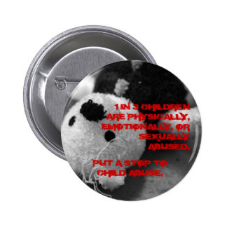Child Abuse Awareness Button