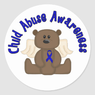 Child Abuse Awareness Stickers