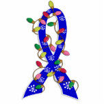 Child Abuse Christmas Lights Ribbon Acrylic Cut Outs