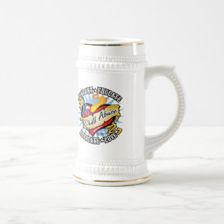 Child Abuse Classic Heart Beer Stein
