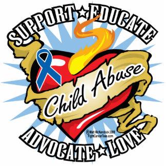 Child Abuse Classic Heart Statuette
