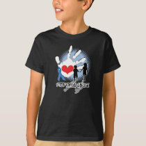 Child Abuse Handprint T-Shirt