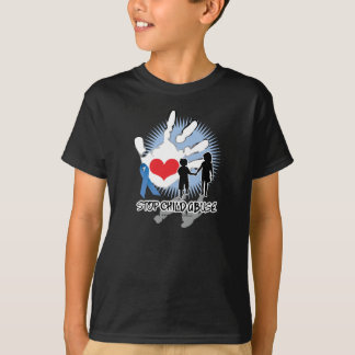 Child Abuse Handprint T-Shirt