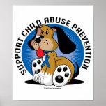 Child Abuse Prevention Dog Poster
