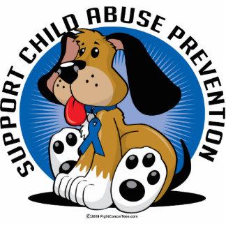 Child Abuse Prevention Dog Statuette