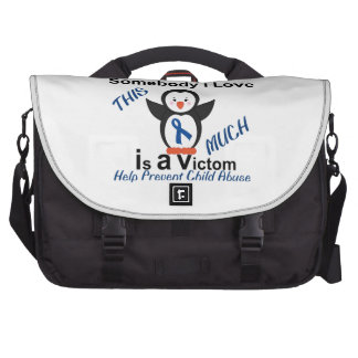 Child Abuse Prevention Someone I Love Bag For Laptop