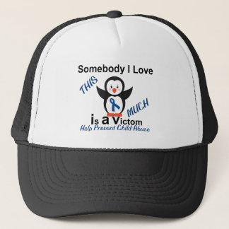 Child Abuse Prevention Someone I Love Trucker Hat
