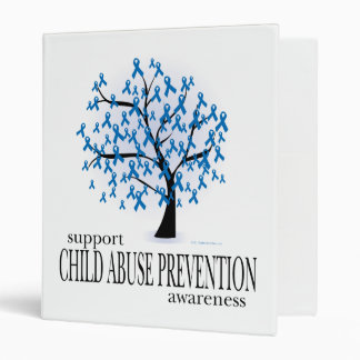 Child Abuse Prevention Tree 3 Ring Binder