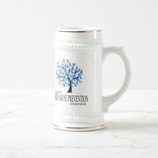 Child Abuse Prevention Tree Coffee Mug