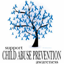 Child Abuse Prevention Tree Cutout