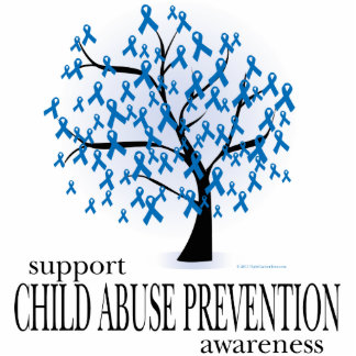 Child Abuse Prevention Tree Photo Cutout