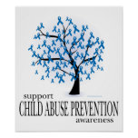 Child Abuse Prevention Tree Poster