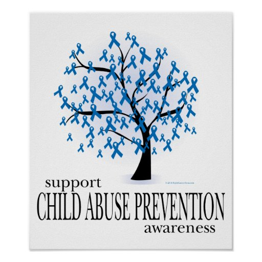 Child Abuse Prevention Tree Print