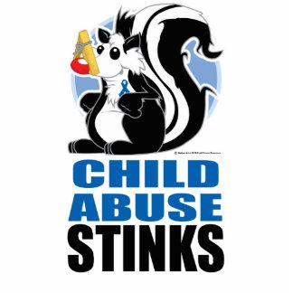 Child Abuse Stinks Cutout
