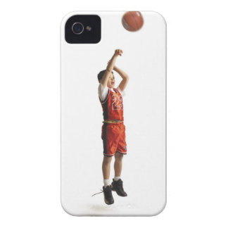 child african american male basketball player in iPhone 4 Case-Mate cases
