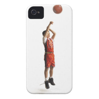 child african american male basketball player in iPhone 4 cases