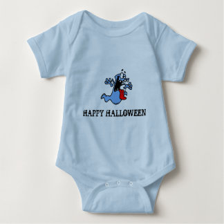 CHILD AND INFANT TOP HAPPY HALLOWEEN T-SHIRT
