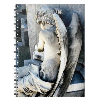 Child Angel Journal Spiral Note Books