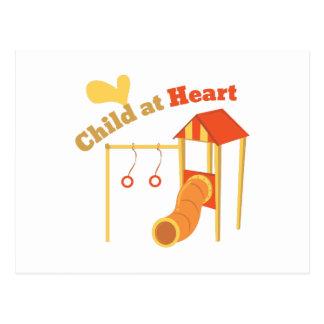 Child At Heart Postcard