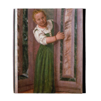 Child at the Door, from the Sala a Crociera, c.156 iPad Folio Cases