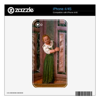 Child at the Door, from the Sala a Crociera, c.156 Skins For iPhone 4S
