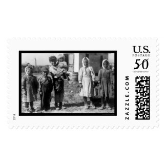 Child Beet Farm Workers Near Sterling, CO 1915 Postage