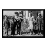 Child Beet Farm Workers Near Sterling, CO 1915 Print
