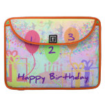 Child Birthday Three Years Old - Happy Birthday! MacBook Pro Sleeves