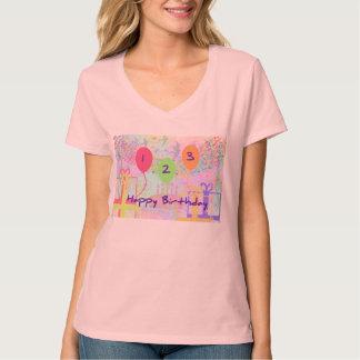 Child Birthday Three Years Old - Happy Birthday! T-shirt