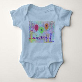 Child Birthday Three Years Old - Happy Birthday! T Shirt