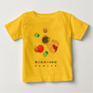 Child Bowling Baby T-Shirt