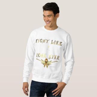 Child Cancer Rock Star Men's Sweatshirt