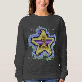 Child Cancer Wish List Ladies Sweatshirt