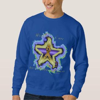 Child Cancer Wish Star Men's Sweatshirt