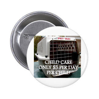 CHILD CARE 4 PINBACK BUTTONS