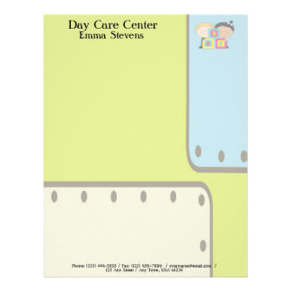 Child Care ABC Kids Letterhead