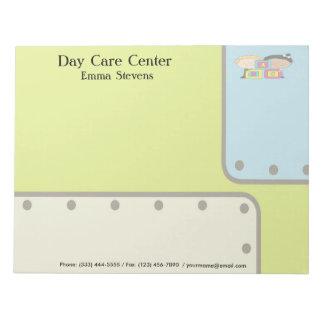 Child Care ABC Kids Notepad