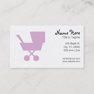 Nanny business cards templates zazzle child care babysitting nanny business card reheart Choice Image