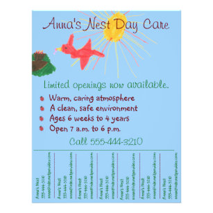flyers for daycare